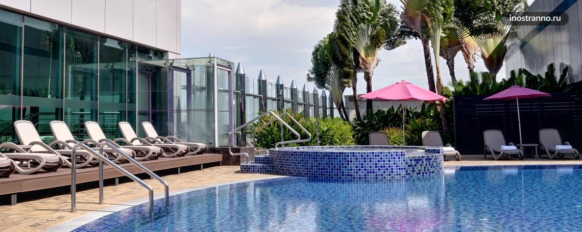 Аэропорт Сингапура Чанги бассейн