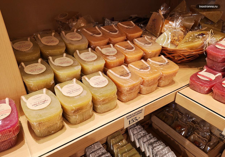 Чешское сувенирное мыло