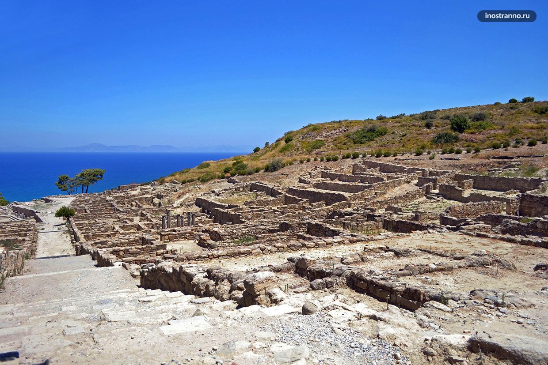 Камирос Античный город на Родосе куда съездить