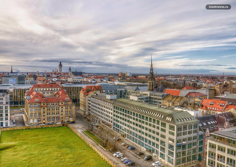 Лейпциг маршрут поездки из Берлина на один день