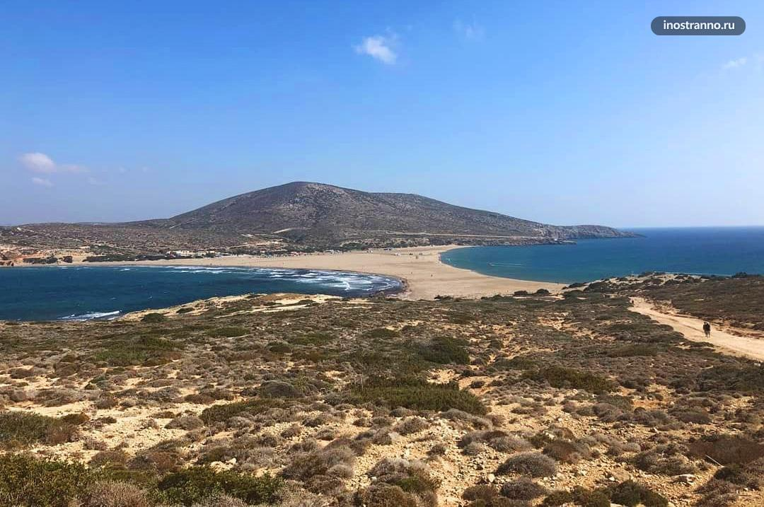 Полуостров Прасониси природная достопримечательность на Родосе