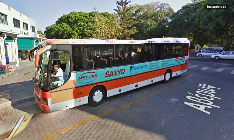 Автобус на Родосе