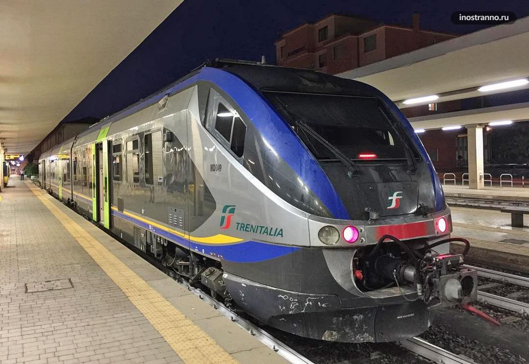Поезд на Сардинии