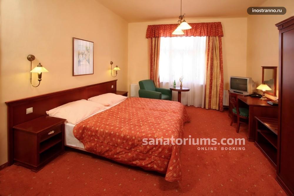 Спа отель в Карловых Варах дешево