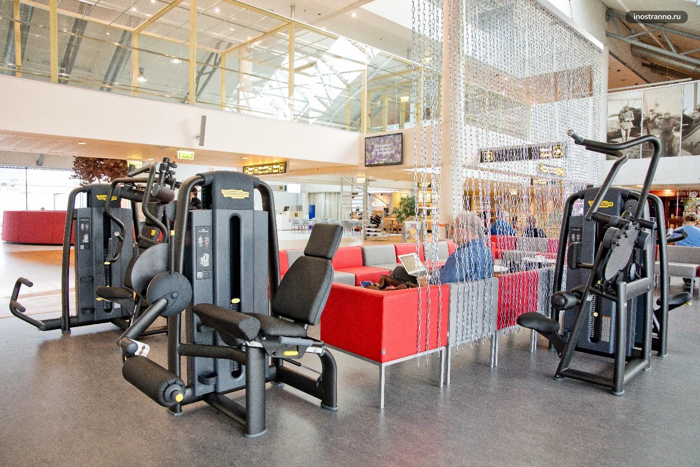 Аэропорт Таллин спорт