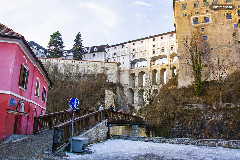 Необычный мост в Чехии