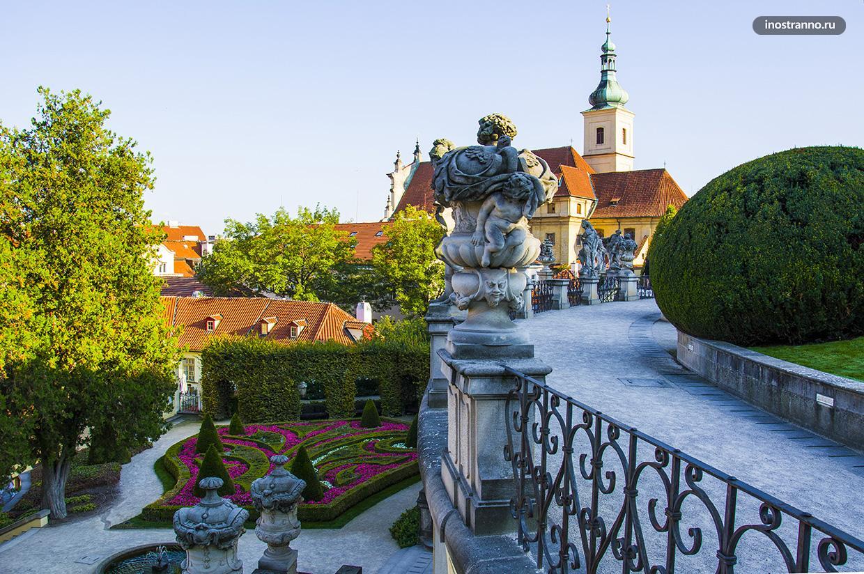 Барочный сад в Европе