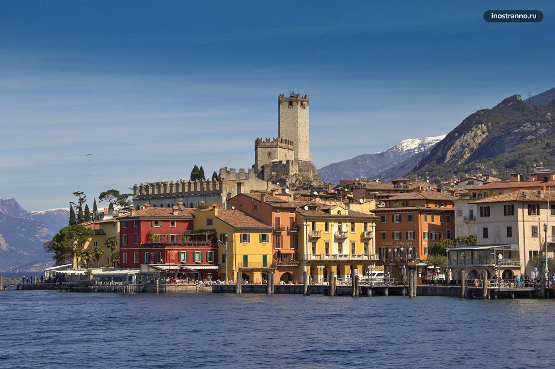 Озеро Гарда красивейшее озеро Италии