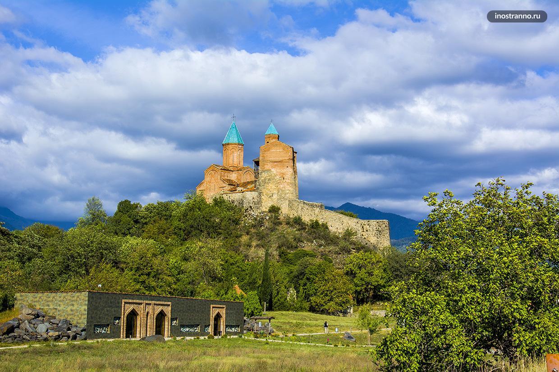 Монастырь Греми в Кахетии