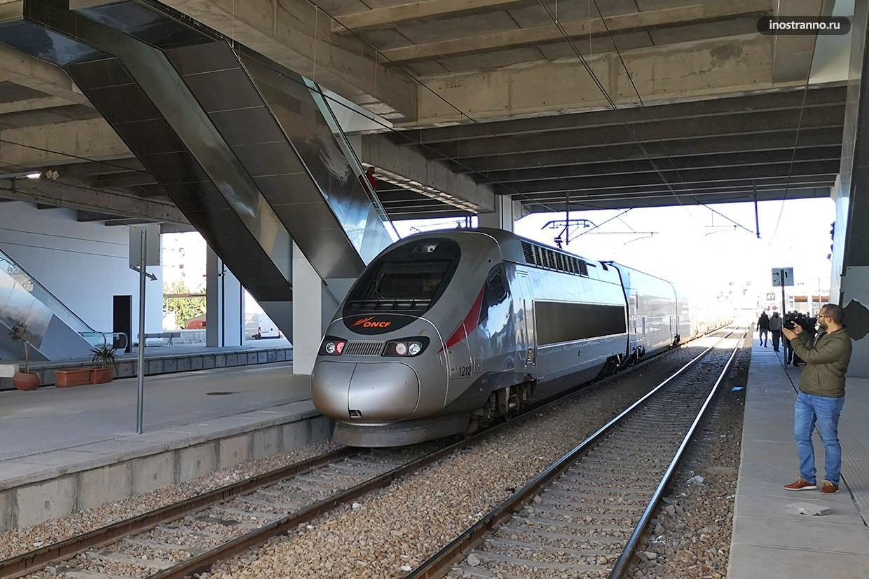 Скоростной поезд в Марокко