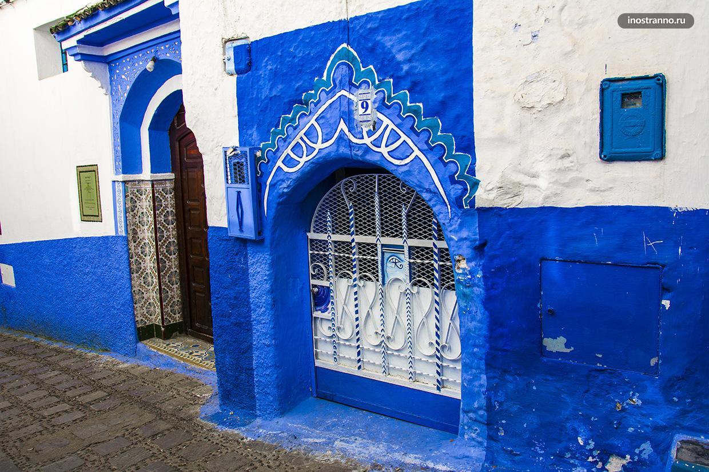 Интересные двери в Марокко