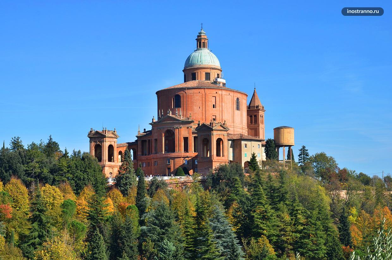 Мадонна-ди-Сан-Люка Церковь в Болонье