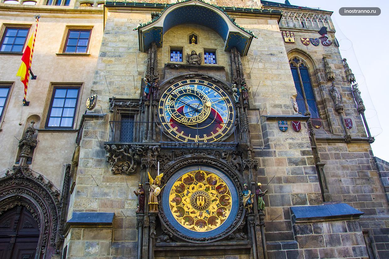 Средневековые башенные часы в Праге история