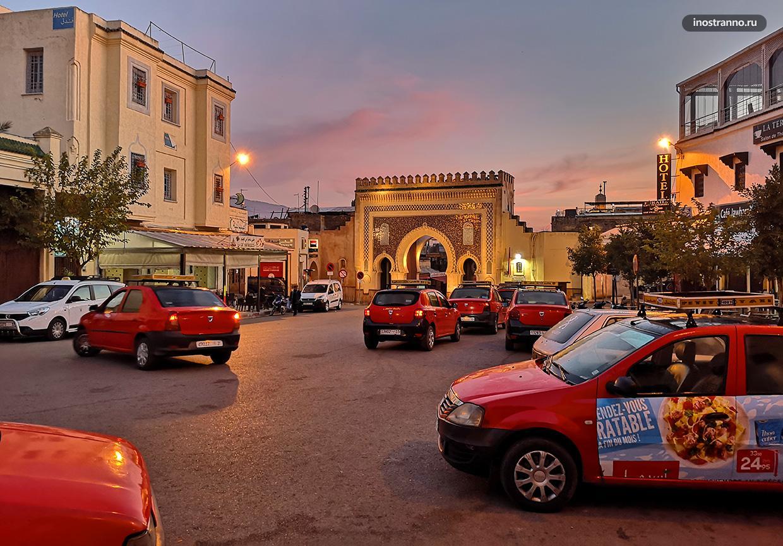 Утро и рассвет в Фесе, Марокко