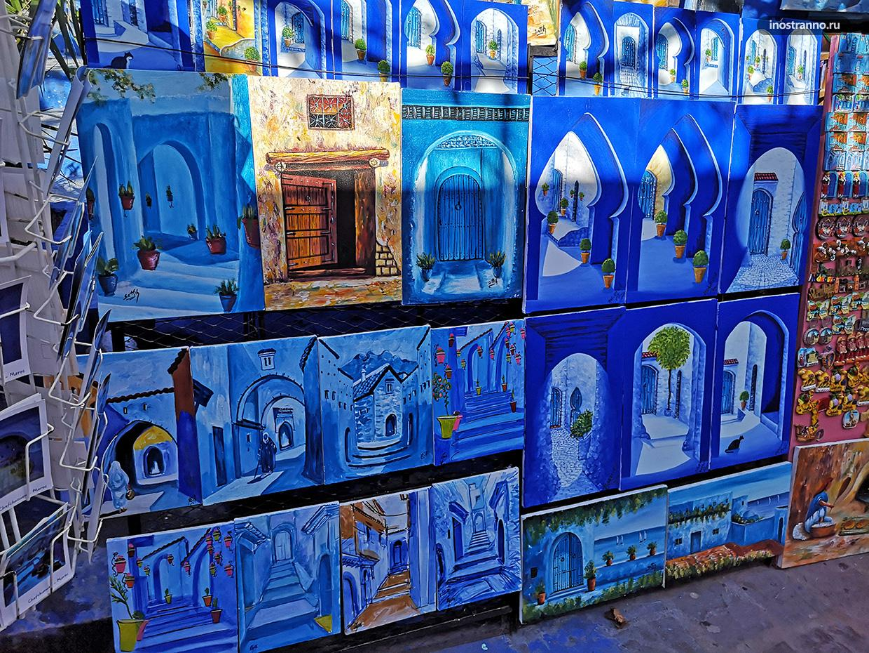 Марокко картина на рынке