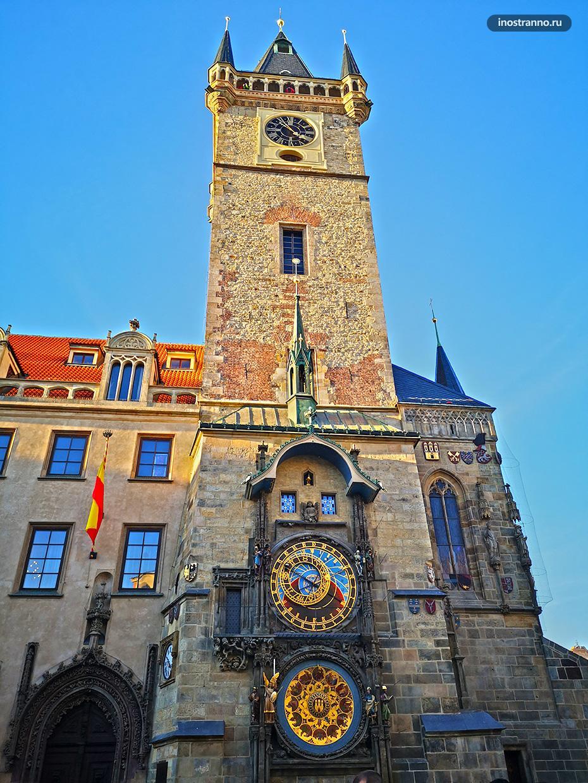 Башенные часы в Праге