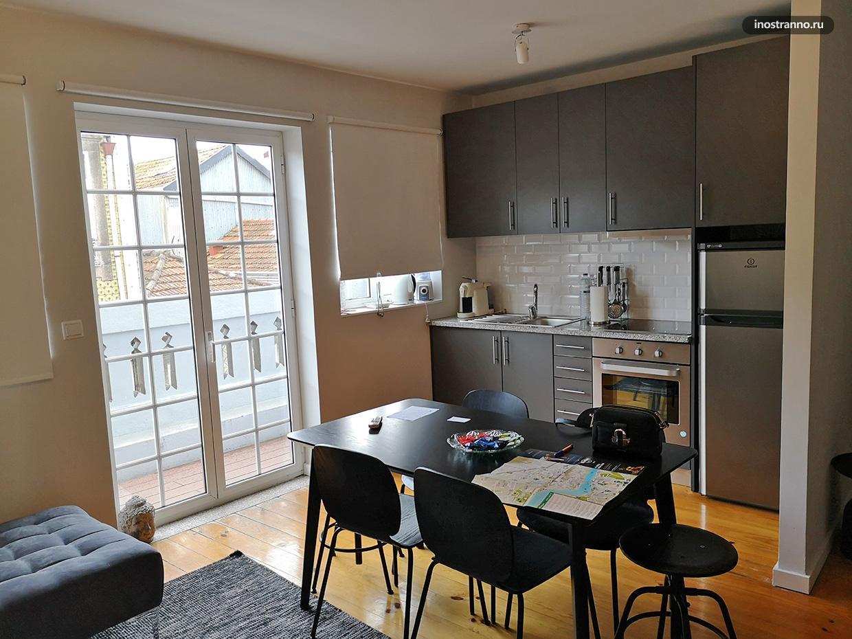Апартамент в Порто, снятый через Airbnb