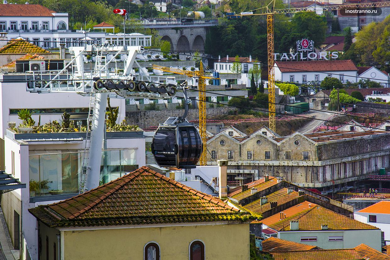 Канатная дорога в Порту