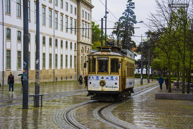 Трамвай в Порту