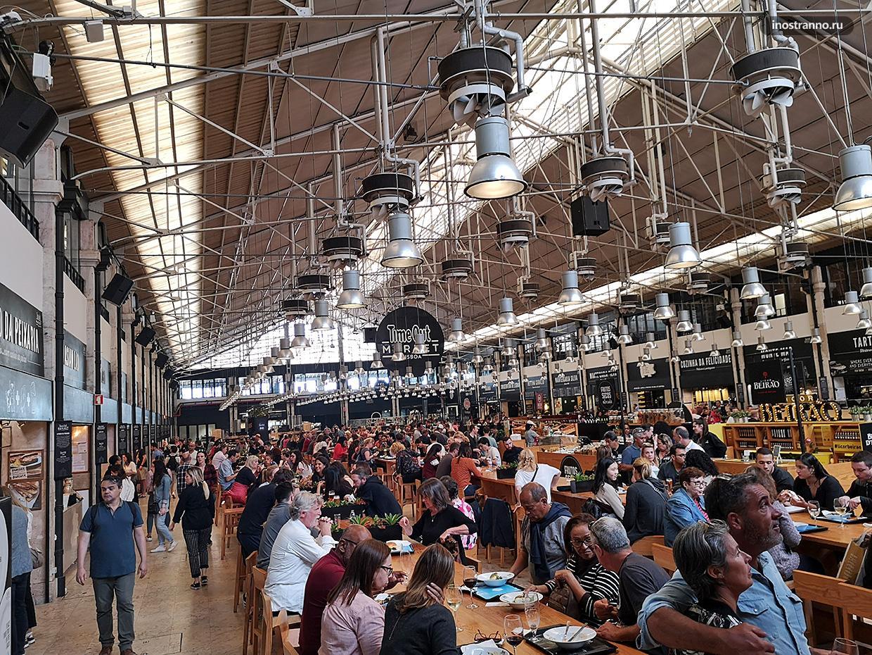 Рынок Time Out Market в Лиссабоне