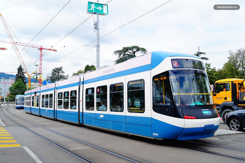Трамвай Цюриха