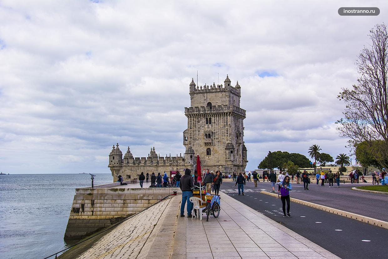 Башня Белем в Лиссабоне