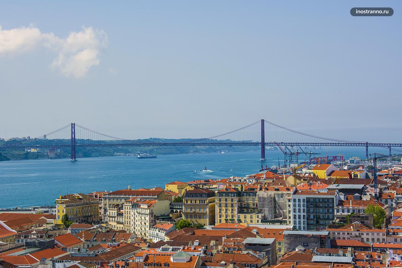 Мост 25 Апреля Лиссабон