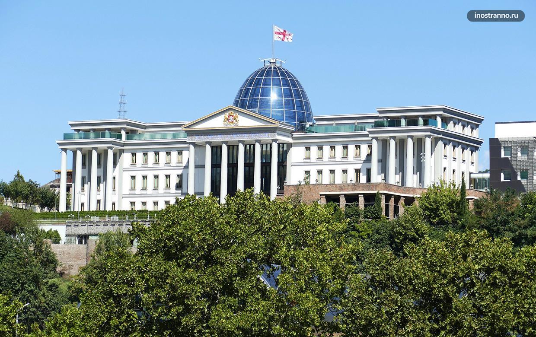 Президентский дворец достопримечательность Тбилиси