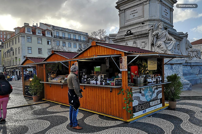 Пасхальный рынок в Лиссабоне