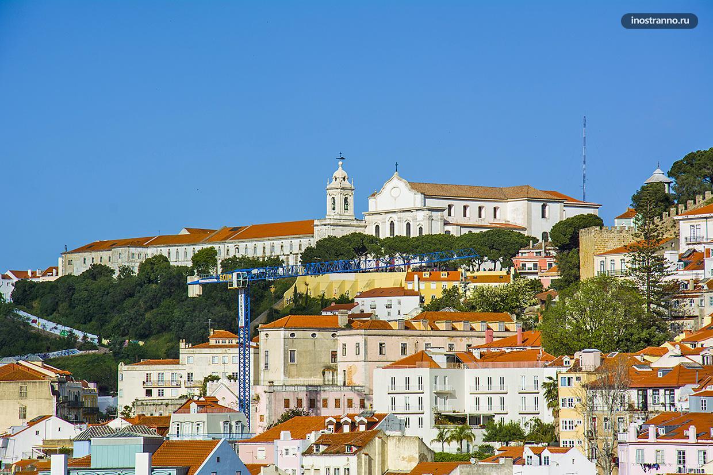 Бесплатная смотровая площадка в Лиссабоне