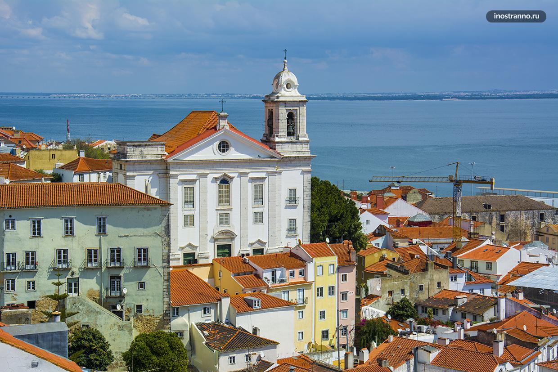 Церковь Igreja de Santo Estêvão в Лиссабоне