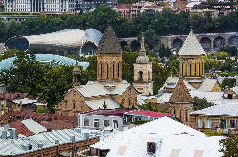 Джварис Мама в Тбилиси