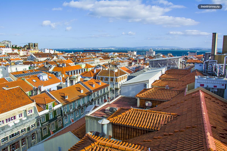 Лиссабонские крыши
