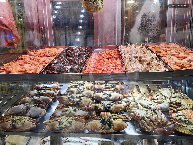 Средиземноморские морепродукты