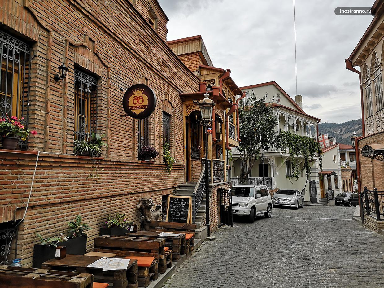 Старый Тбилиси исторический центр