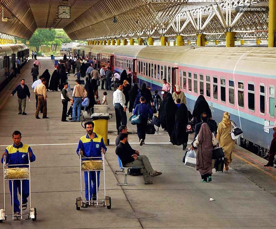 Тегеран поезд в Иране