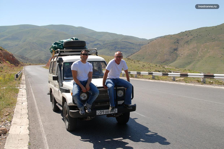 Армения и аэропорт Ереван аренда авто