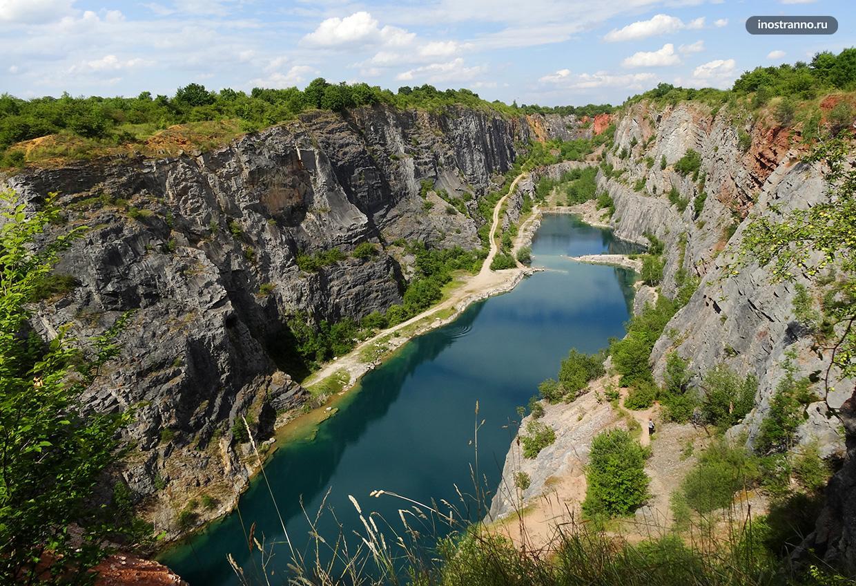 Каньон Большая Америка в Чехии