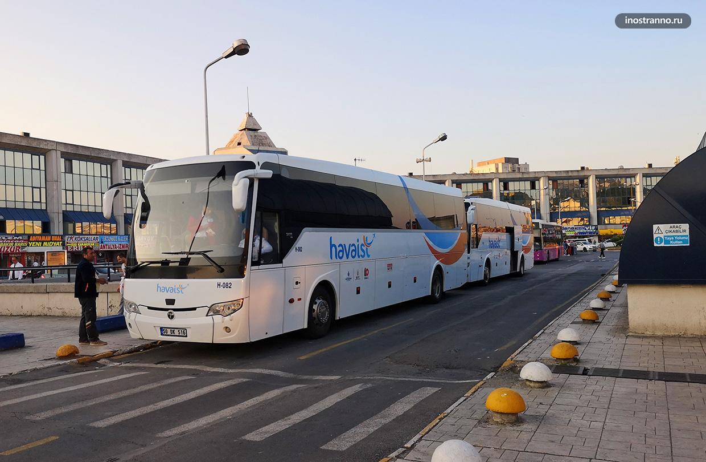 Автобус из центра в Новый аэропорт Стамбула, как добраться