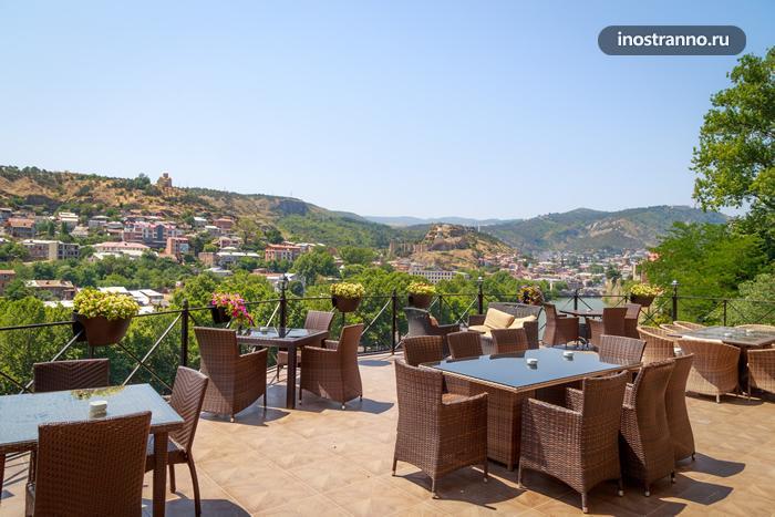 Old Tbilisi Hotel отель в Тбилиси в красивым панорамным видом