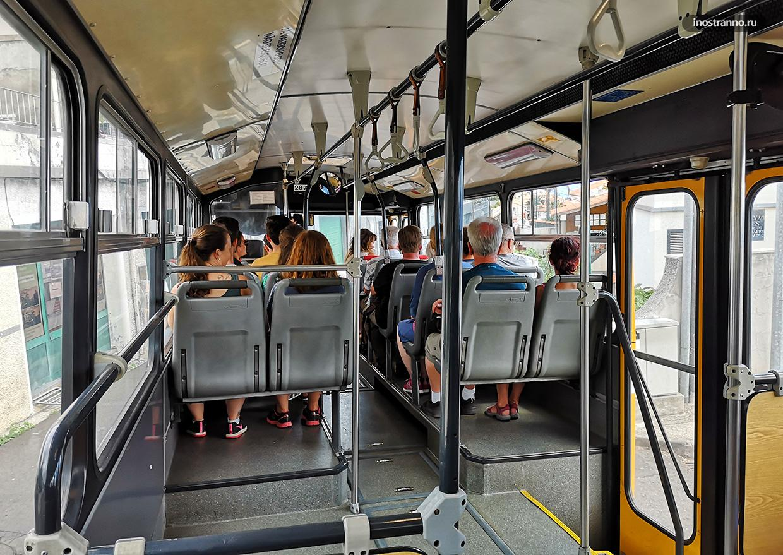 Фуншал автобус