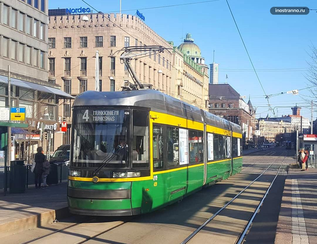 Хельсинки трамвай