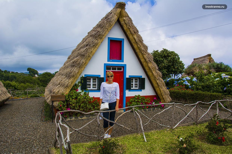 Домики деревни Сантана