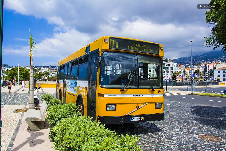 Автобус на Мадейре и в Фуншале