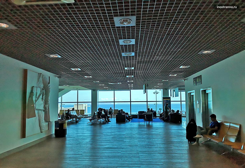 Международный аэропорт Криштиану Роналду на Мадейре