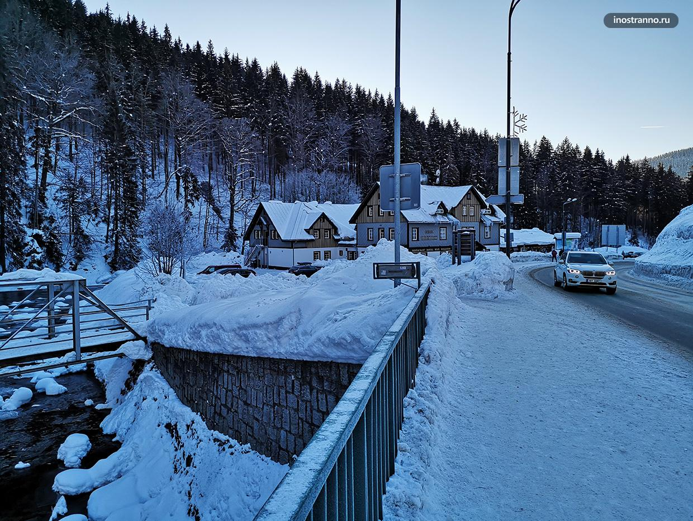 Шпиндлерув Млын зимой