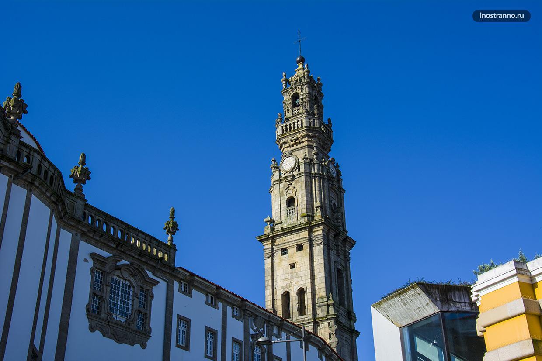 Башня Торре-душ-Клеригуш в Порту