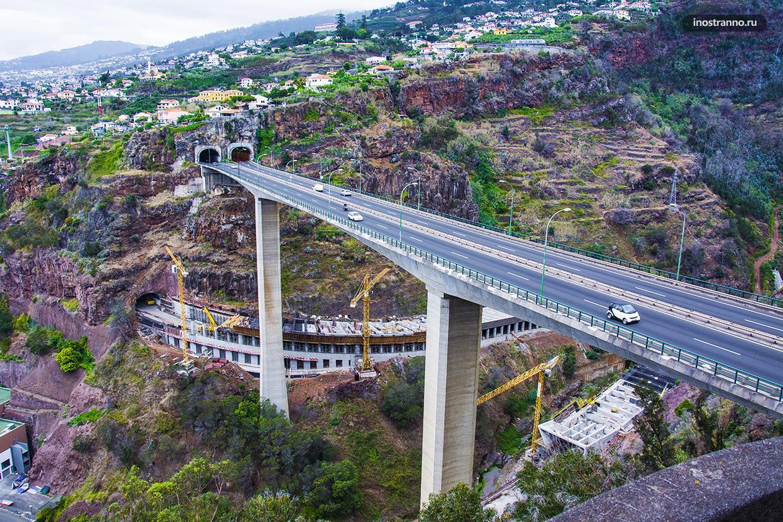 Мост на острове Мадейра