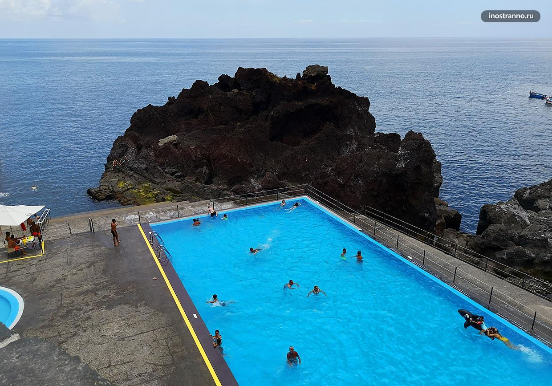 Камара-ди-Лобуш на Мадейре где купаться