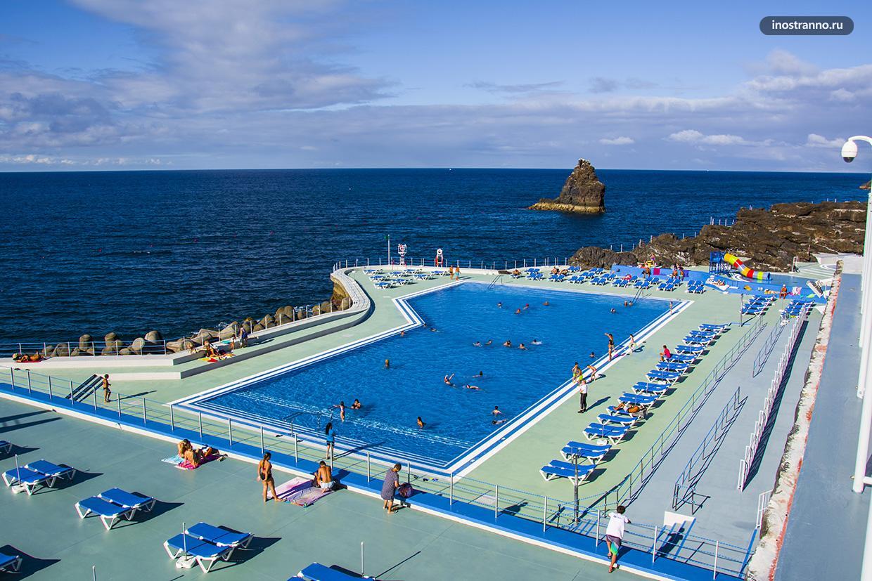 Комплекс бассейнов с морской водой Лидо на Мадейре